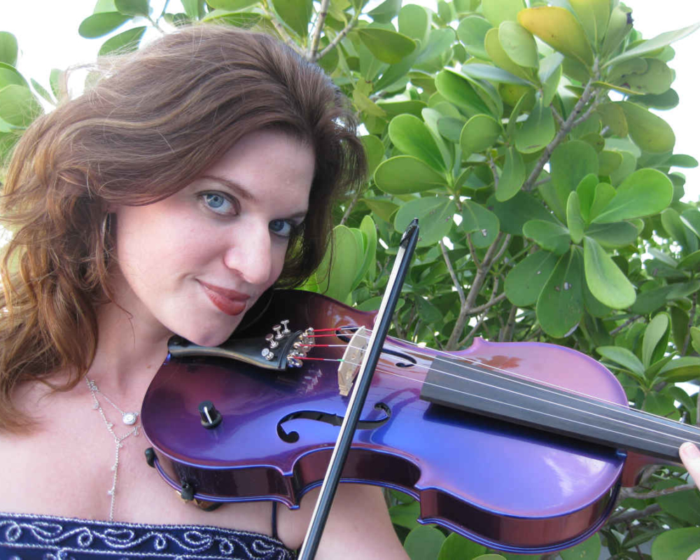 Wedding Violinist with Electric Fiddle