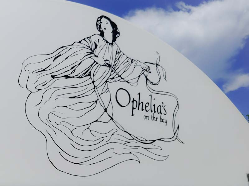 Ophelia's on the Bay for weddings in Sarasota and Siesta Key