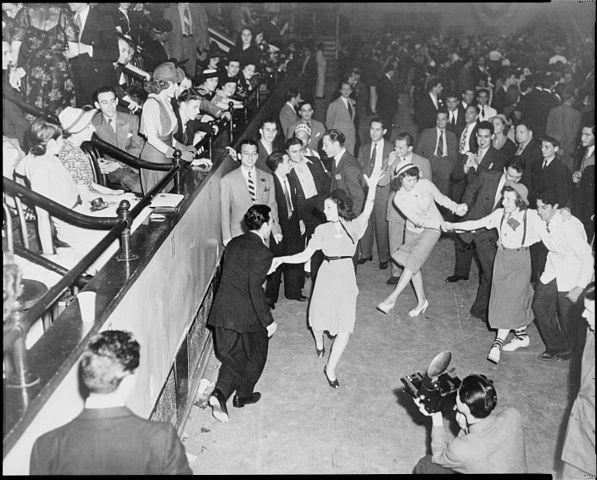 Jitterbug dancers 1938