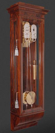 double pendulum perpetual clock