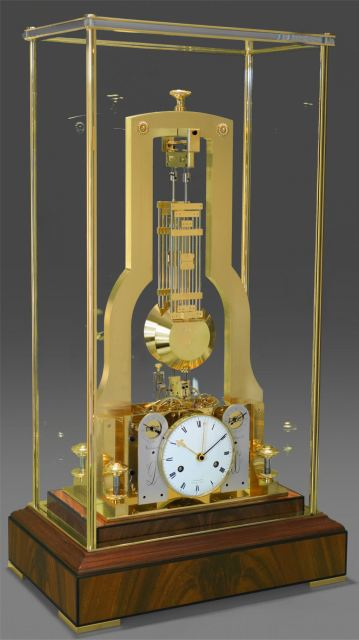 Double Pendulum Table Clock