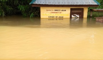 ANAM ANAMBRA FLOOD IN PICTURE