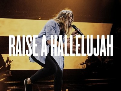 I raise a hallelujah, with everything inside of me I raise a hallelujah, I will watch the darkness