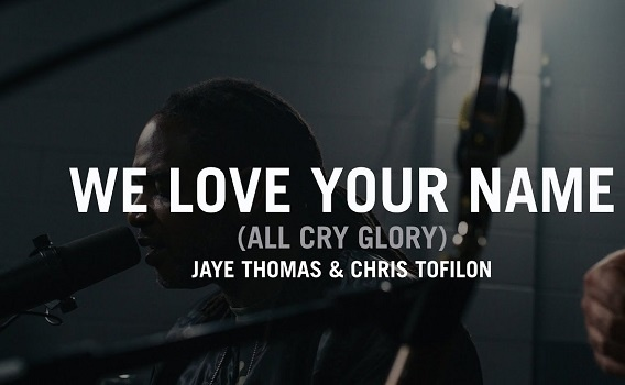 We love your name by Thomas Jaye ft the Cry Lyrics and MP3 2013 song.