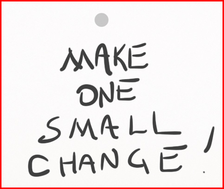One Small Change