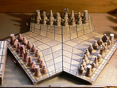 3 player chessboard