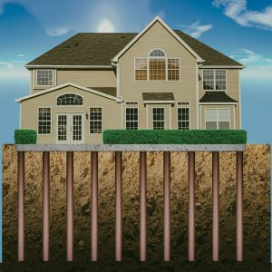 home with regular foundation