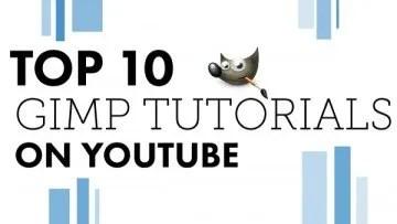 Top 10 GIMP Tutorials on YouTube Article