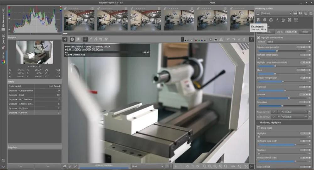 RAW Therapee Image Editor
