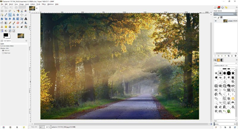Remove Anything from an Image in GIMP