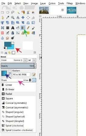 A Blend Tool kép használata a Text Tutorial alkalmazásban