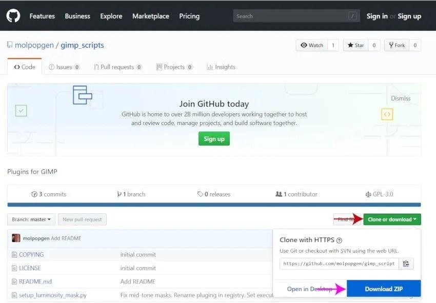 Preuzmite dodatak za podešavanje maske svjetline GitHub