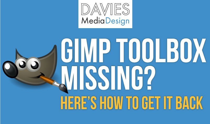 Is Your GIMP Toolbox Missing? Here's How to Get It Back