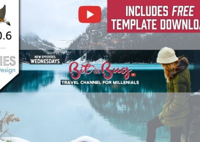 GIMP 2.10 Tutorial: Make a YouTube Channel Art Design 2018