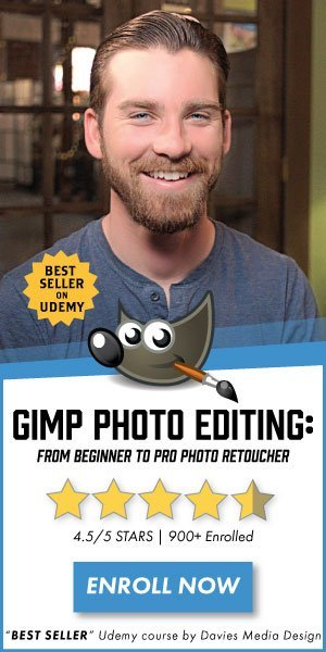 GIMP Photo Course Learn Photo Editing on Udemy with GIMP 2.10