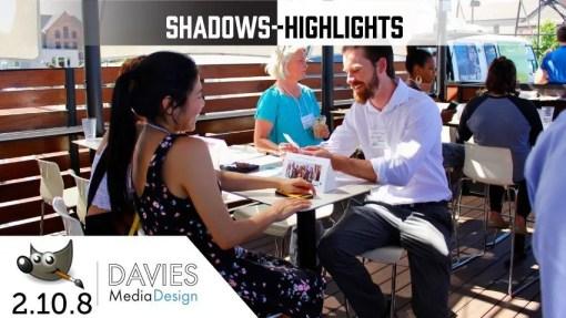 GIMP 2.10 Tutorial: Shadows-Highlights Feature