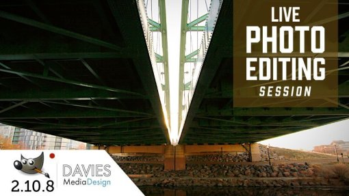 GIMP 2.10 Live Photo Editing Session (Jan 11th)