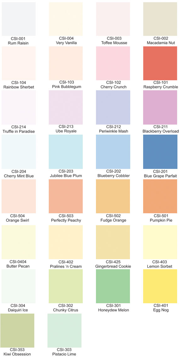 Davies Paint Color Chart Latex Paint Color Ideas