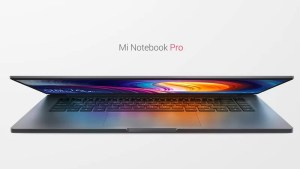 Xiaomi vai atrás da Apple e do Macbook Pro com o novo Mi Notebook Pro 1