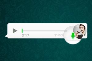 WhatsApp vai tirar botão para gravar áudio