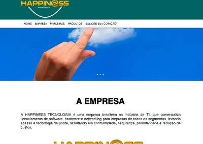 Institucional – Happiness Tecnologia
