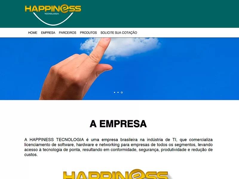 Institucional – Happiness Tecnologia