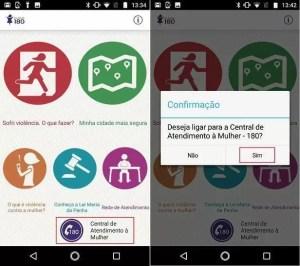 Clique 180: como usar aplicativo que combate a violência contra mulher 3