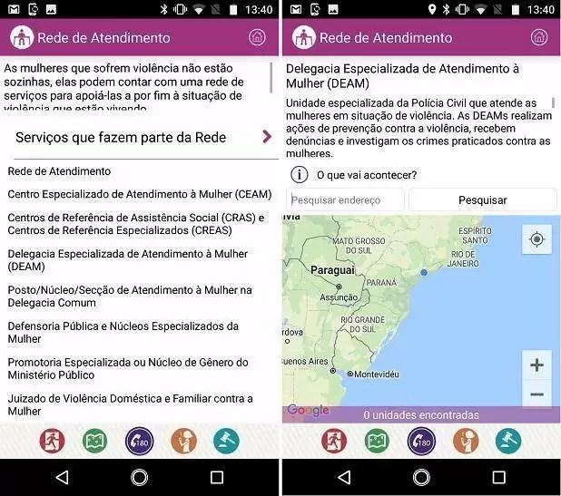 Clique 180: como usar aplicativo que combate a violência contra mulher 7