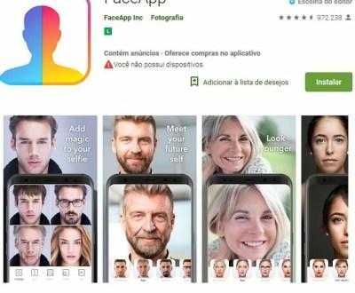 FaceApp: App que promete deixar você mais velho pode ameaçar sua privacidade