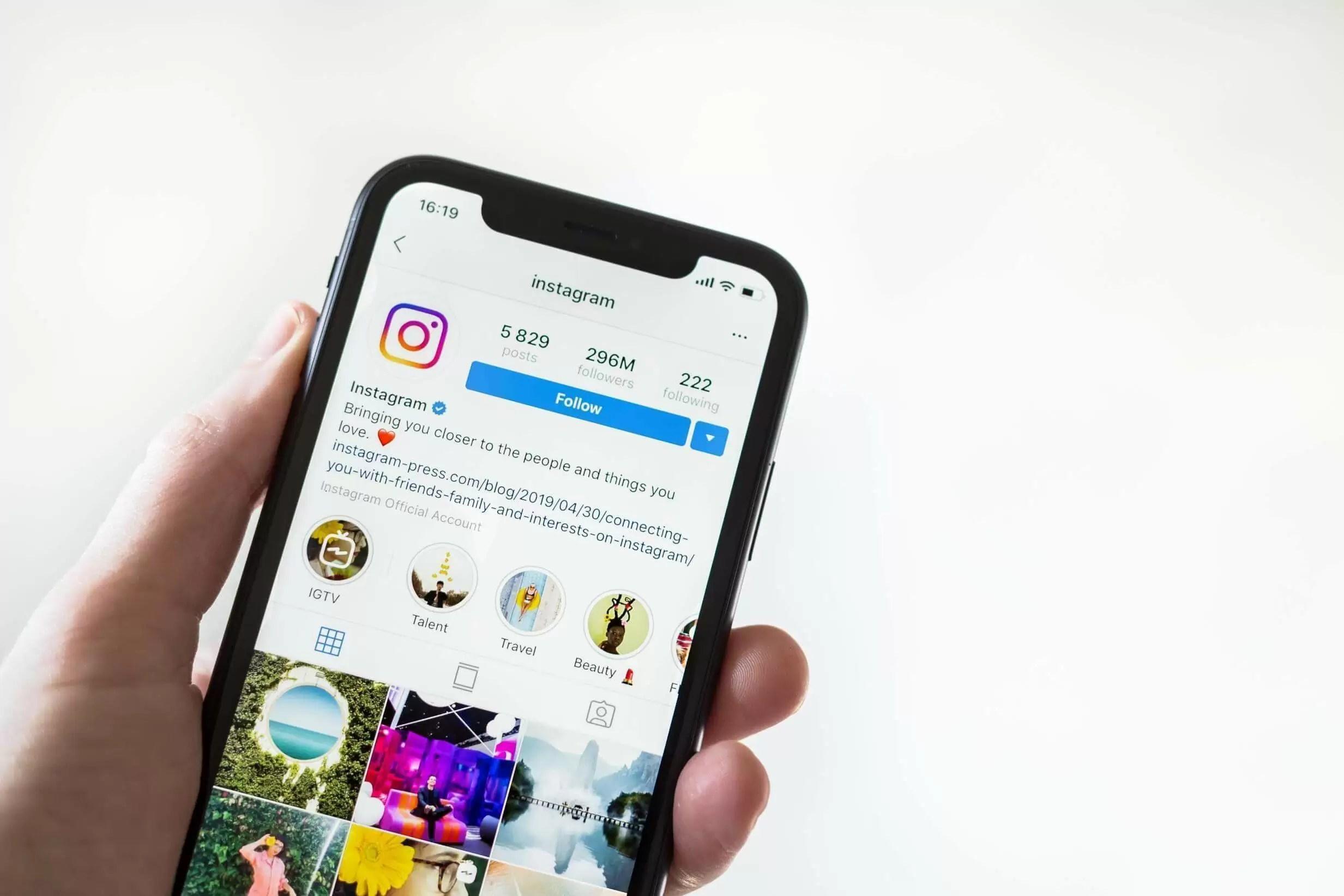 Instagram agora não permite mais visualizar posts sem fazer login