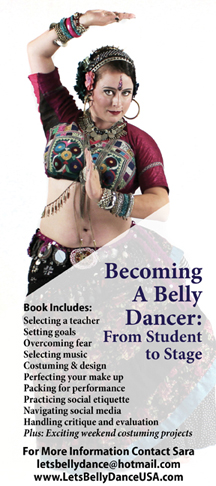 "5 Fall Reads for Belly Dancers - Titles from the reading list of the book, ""Becoming a Belly Dancer: From Student to Stage."" by Sara Shrapnell , Dawn Devine, Alisha Westerfeld, and Poppy Maya."