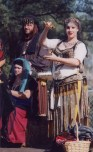 Performing with the Ottoman Traders, Summer 1998