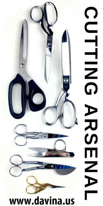 Studio Davina: Cutting Arsenal - scissors & shears