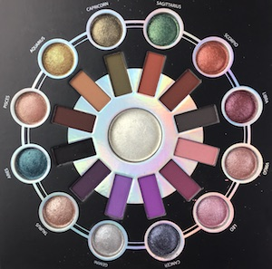 BH Cosmetics - Zodiac Eyeshadow Palette - great for making belly dance looks!