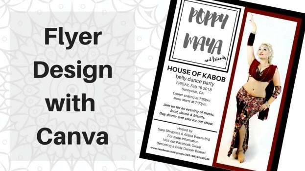 free class on making flyers with canva studio davina studio davina