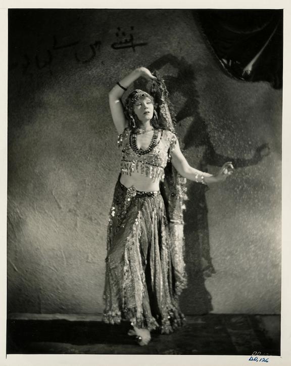 "Gilda Gray from the Movie ""Devil Dancer"" - Costume History Month - Studio Davina"