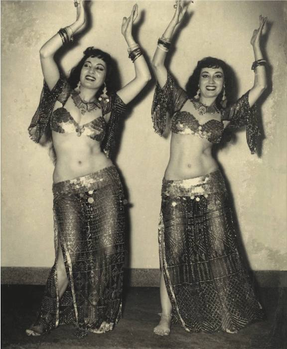 Lys and Lyn Jamal, 1950's - Costume History Month - Studio Davina
