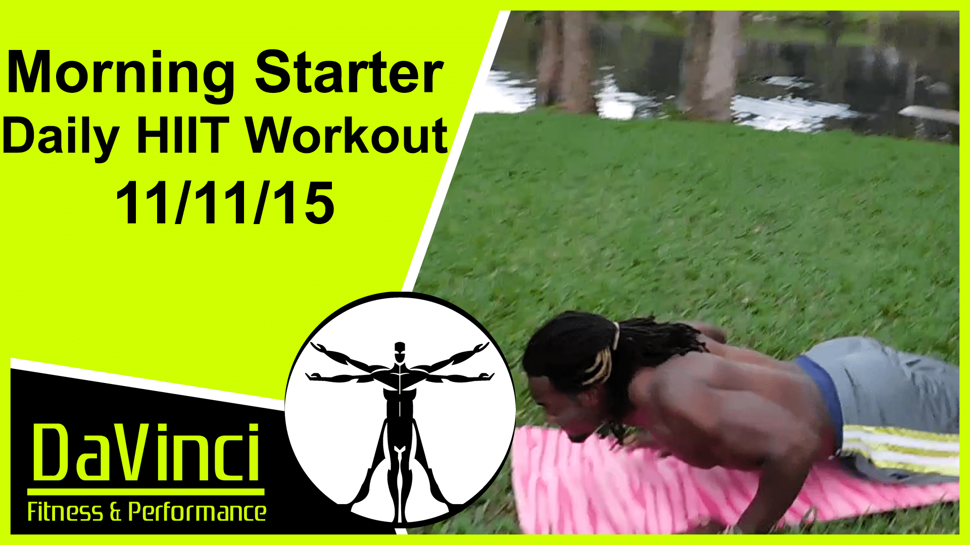 Morning Starter Daily HIIT workout
