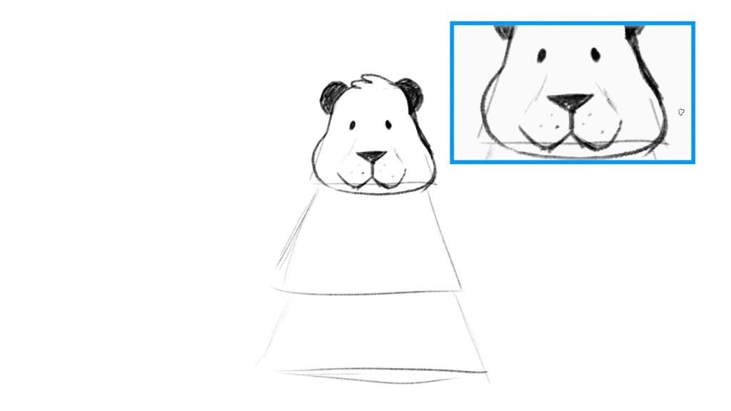 Panda drawing tutorial