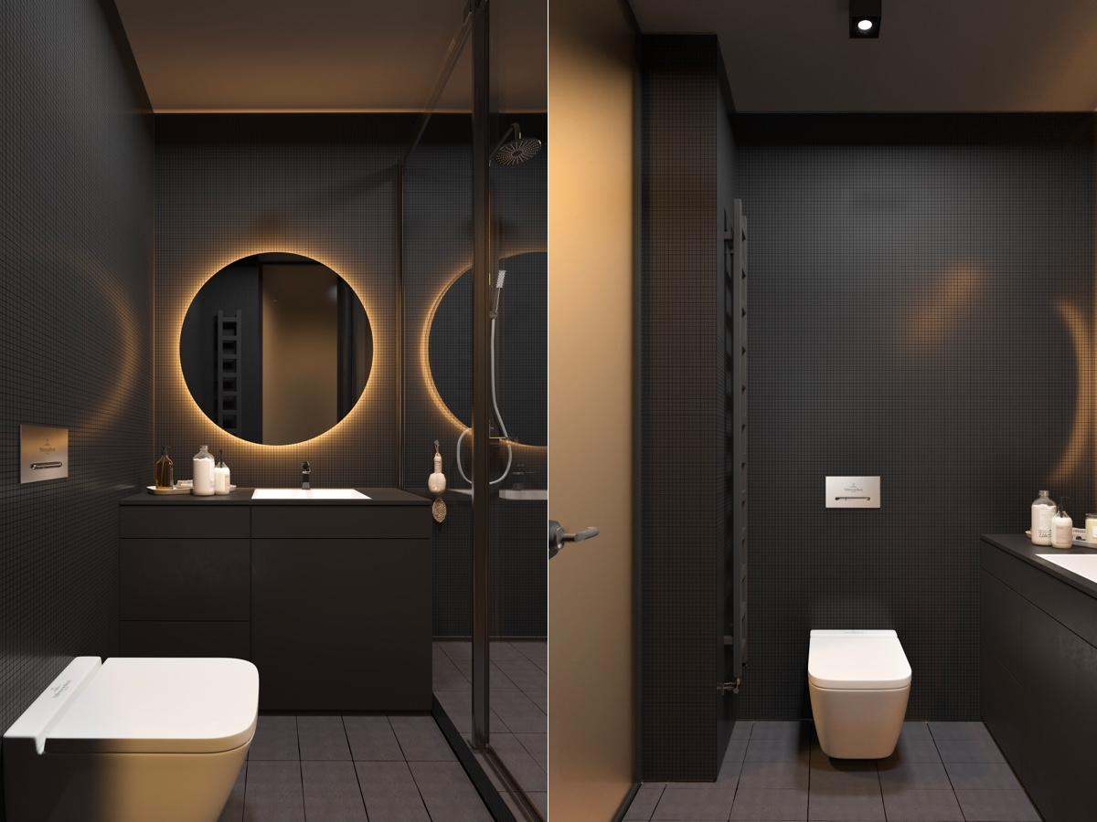 HOME DESIGNING: 51 Modern Bathroom Design Ideas Plus Tips ... on Contemporary Small Bathroom Ideas  id=83113