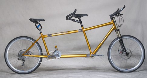 Front Suspension Mountain Tandem Bicycle