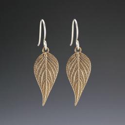 DaVine Jewelry, Bronze Pineapple Sage Dangle Earrings