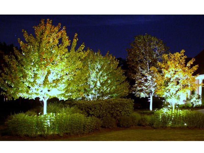 landscape lighting davis landscape