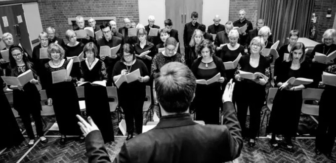 Leicestershire Chorale Website Project - rehearsal