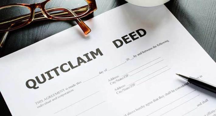 Quit Claim Deeds