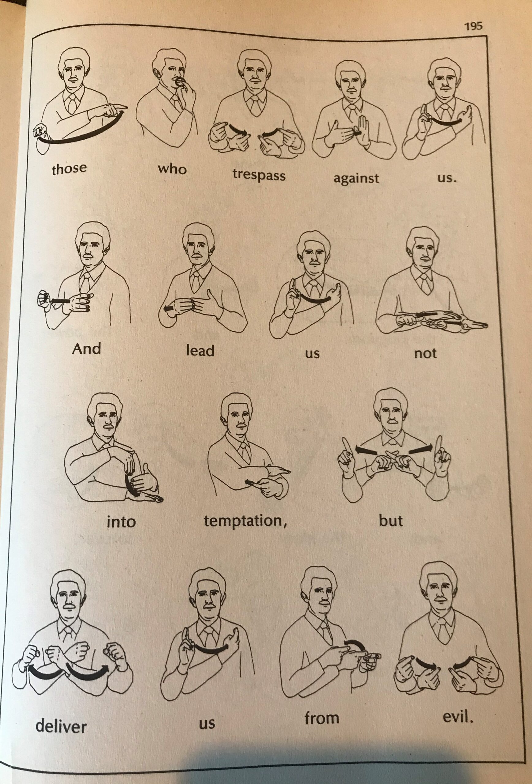 The Lord S Prayer In American Sign Language Spring