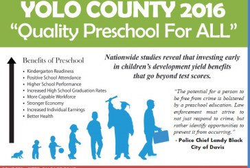 Yolo County Superintendent and Coalition Push Quality Preschool For All in 2016