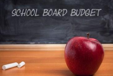 School Board Meeting Focused On Budget Update