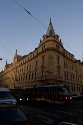 Random building in Prague