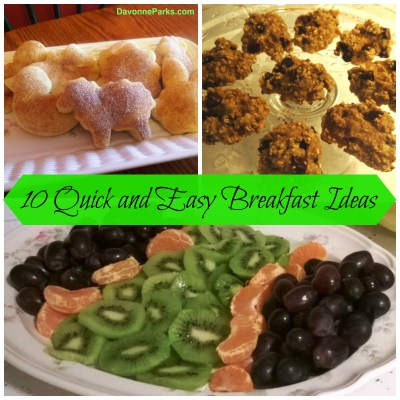 10 Simple Homemade Breakfast Ideas